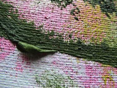 BH pink & green splotch